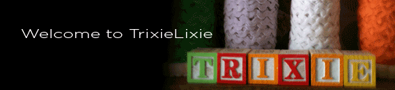 Welcome to TrixieLixie Banner