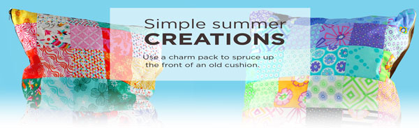 charm pack summer creations