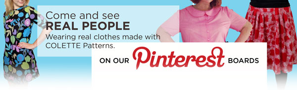 colette patterns on pinterest
