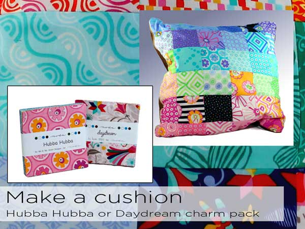 front page hubba hubba daydream cushion
