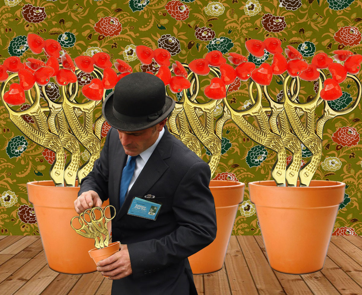 After the Flower Show, the real excitement starts at the Royal Chelsea Haberdashery Show.