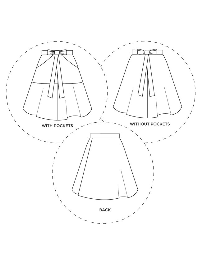 tilly miette technical drawings