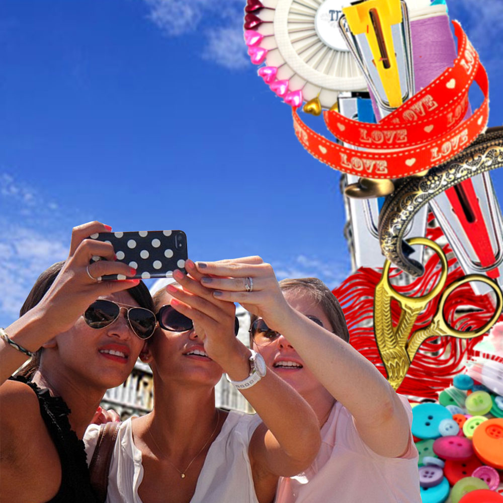 TrixieLixie's Leaning Tower of Haberdashery tops list of 20 most Instagrammed tourist attractions.